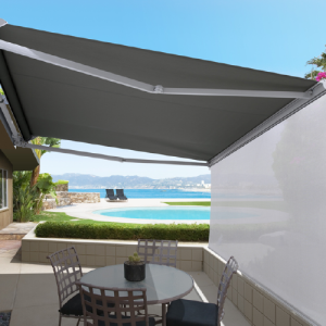 awnings luxaflex ventura folding arm open