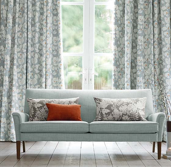Ripple fold (s-fold) curtains