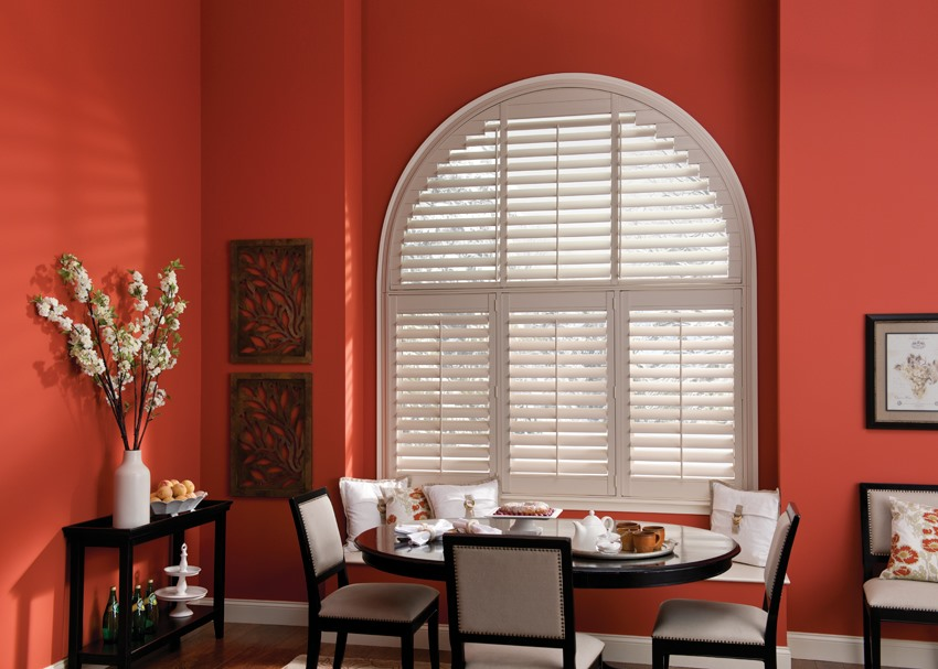 Custom shutters PolySatin