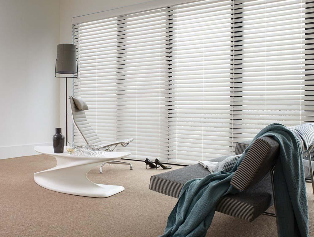 Luxaflex Venetian Wood Essence Beyond Wood blinds