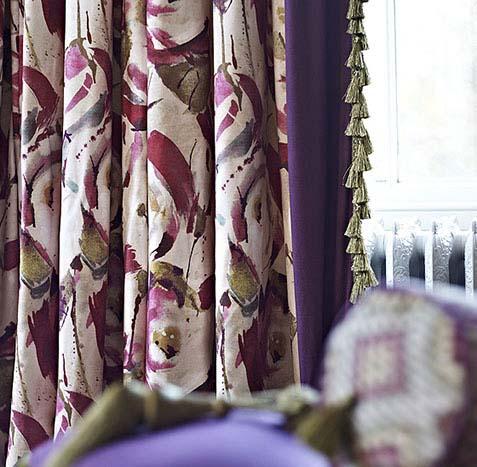 Blockout curtains multicolour