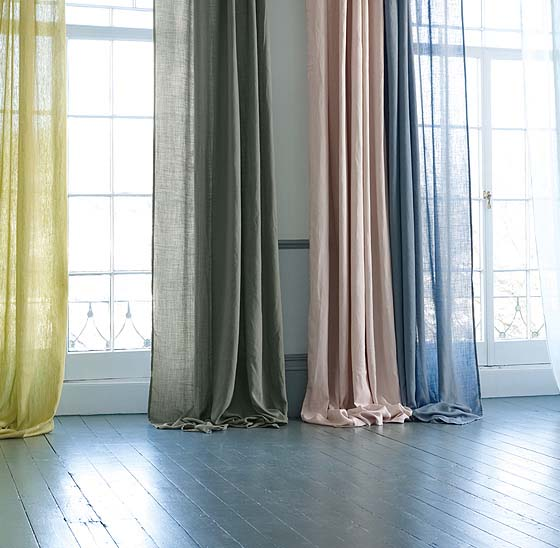 Custom made curtains sheer multi colour