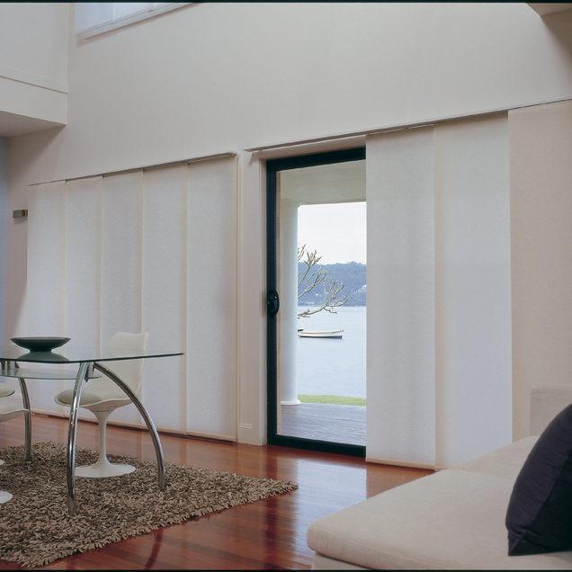 Glide panel blinds