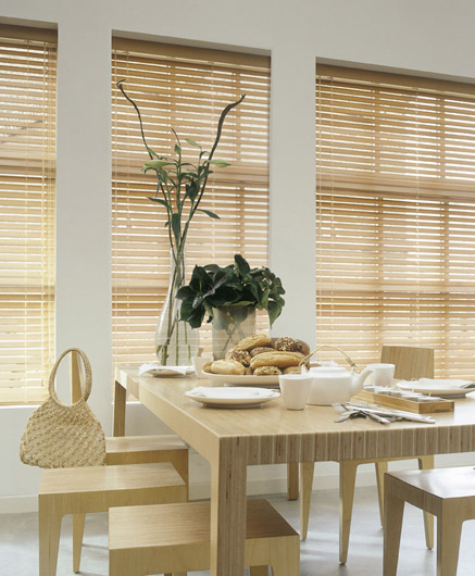 New York Venetian blinds light