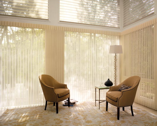 Luxaflex Luminette Privacy Sheers