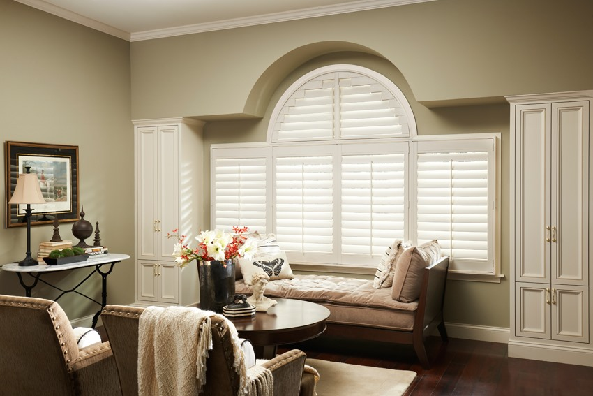Polysatin shutters custom