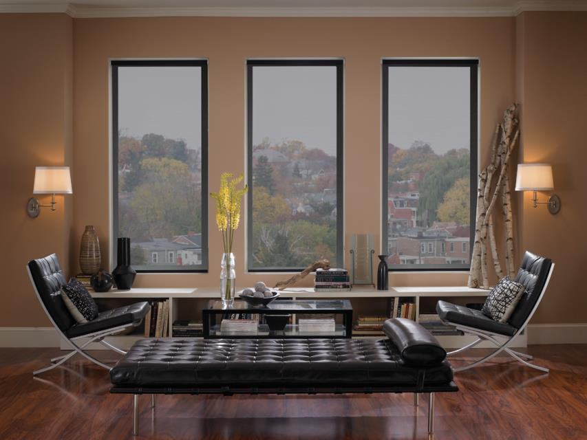 Roller blinds with Edge technology