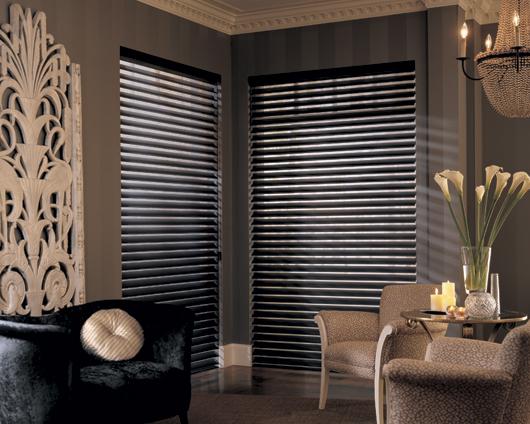 Luxaflex SoftShades dark Silhouette Shades
