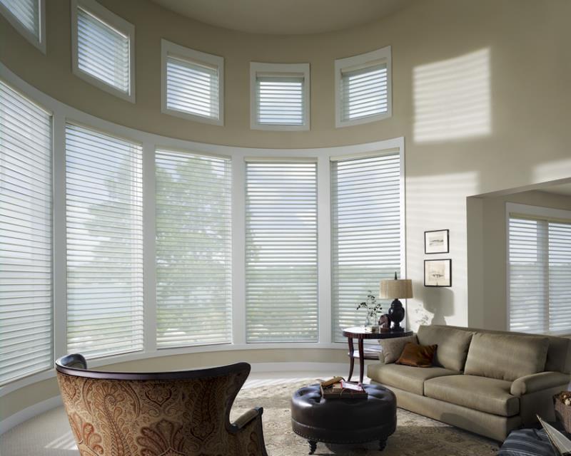 Luxaflex SoftShades Silhouette Shades round corner