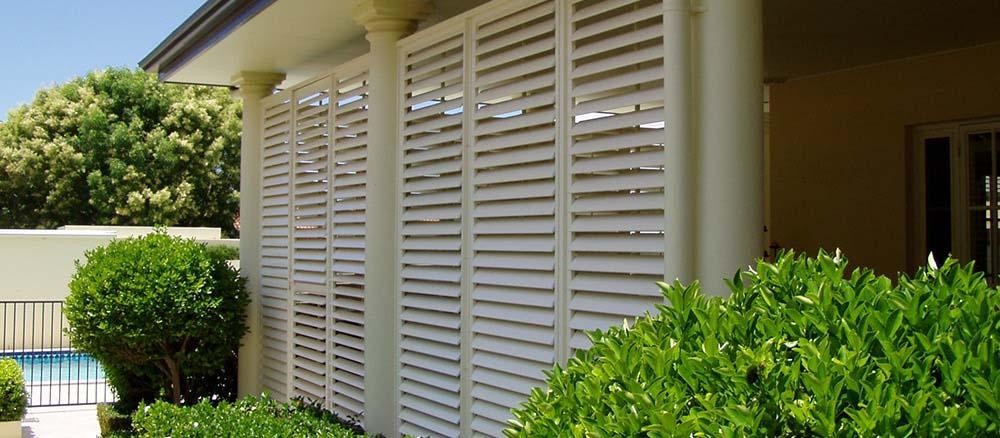 Outdoor shutters