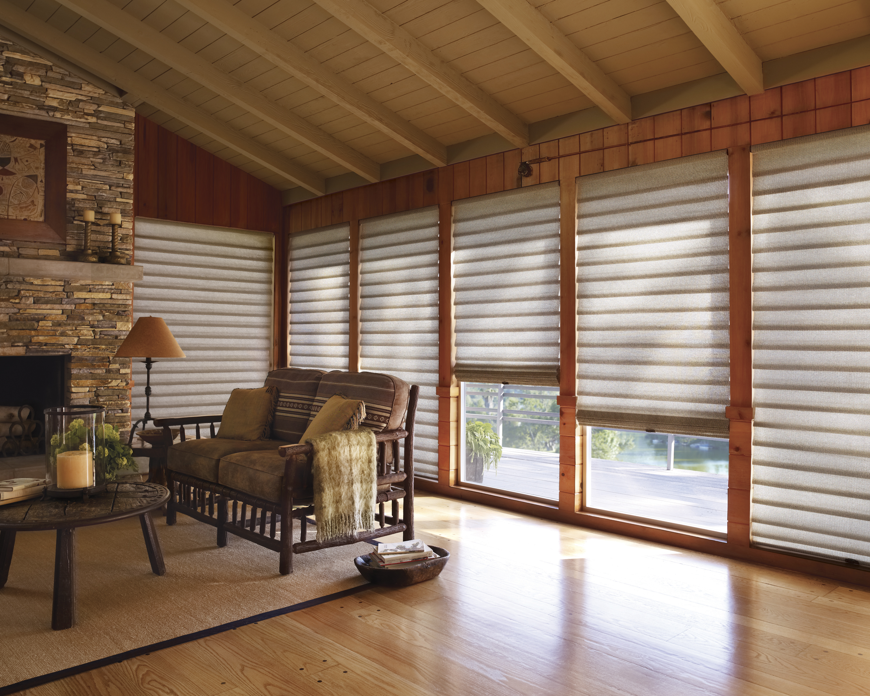 Luxaflex 174 Modern Roman Shades Decorating Decor Interiors