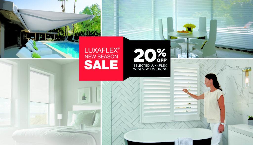 Luxaflex 2017 New Season Sale